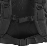 Large 3 Day Backpack | Black Backpack | Black Go Bag | Mesh Back Padding | Sternum Strap | Waist Strap