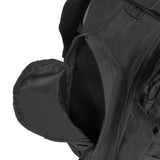 Large 3 Day Backpack | Black Backpack | Black Go Bag | Large Side Pockets
