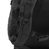 3 Day Pack | Black Backpack | Mesh Back Padding | Heavy Duty Padded Shoulder Straps | Sternum Strap