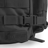 Large 3 Day Backpack | Black Backpack | Black Go Bag | Highland Tactical Gear