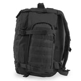 Large 3 Day Backpack | Black Backpack | Black Go Bag | Hiking | Camping