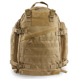 Large 3 Day Backpack | Desert Backpack | Desert Coyote Go Bag | MOLLE Webbing | Waist Strap | Compression Straps