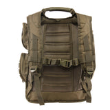 Agent Backpack | Yoked Shoulder Straps | Back Padding