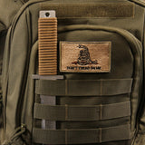 Agent Backpack MOLLE Uses | MOLLE Webbing Panel