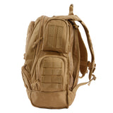Agent Tactical Backpack |  Coyote Desert | MOLLE Bag | Multiple Pockets
