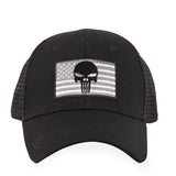 American Flag/Punisher Skull