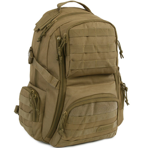 Crusher Backpack | Tactical Day Pack | Multiple Pockets | Best Day Pack | Hiking | Range |