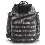 Large 3 Day Backpack | Black Digi Camo | Black Camo | MOLLE Webbing | Large Padded Shoulder Straps |  Waist Strap |