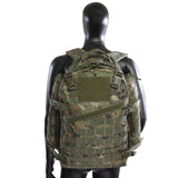Large 3 Day Backpack |Green Digi Camo | Green Camo | MOLLE Webbing | Large Velcro Patch
