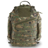 Large 3 Day Backpack | Green Digi Camo | Green Camo | MOLLE Webbing | Large Velcro Patch