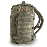 Large 3 Day Assault Backpack | Green Digi Camo | Green Camo | MOLLE Webbing | Water Bottle Pockets | Large Pockets