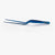 "NEW -17cm / 6.69"" SuperFine® Offset Chef's Tweezers (Medium-Small)"