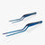 oui chef tweezers metallic blue precision kit 4