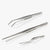 oui chef tweezers stainless steel precision kit 7