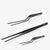 oui chef tweezers jet black precision kit 8