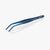 oui chef cooking kitchen tweezers 20cm Angled Tip Regular Jet Black medium