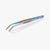 oui chef cooking kitchen tweezers oil 20cm angled tip
