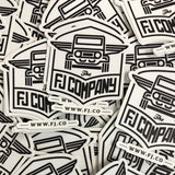 Logo Sticker (3 pack)
