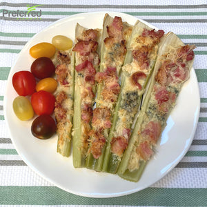 Baked Celery with Bacon and Cheese