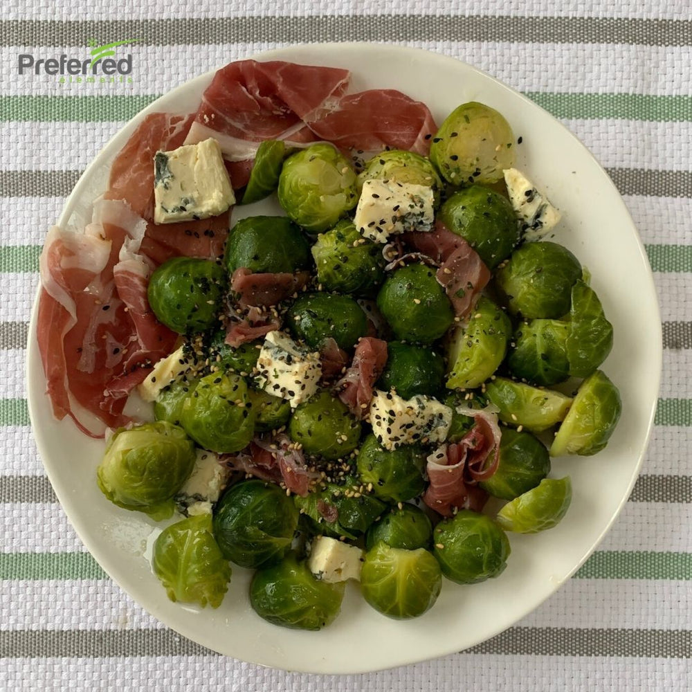Brussel Sprouts with Prosciutto