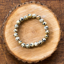 Load image into Gallery viewer, Dalmatian Jasper | Gemstone Bracelets