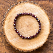 Load image into Gallery viewer, Garnet | Gemstone Bracelets