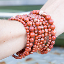 Load image into Gallery viewer, Red Jasper | Gemstone Bracelets