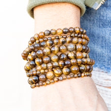 Load image into Gallery viewer, Tiger Eye | Gemstone Bracelets