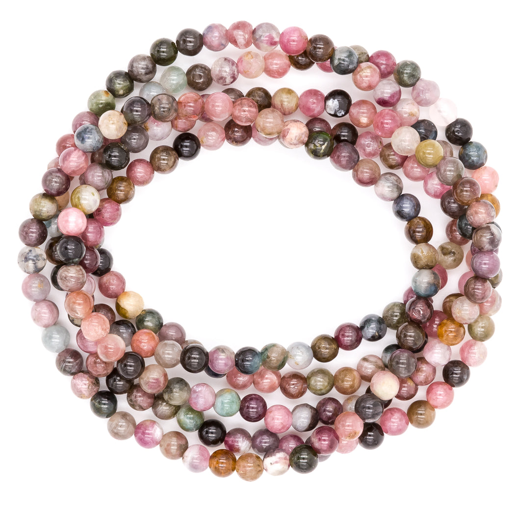 Rainbow Tourmaline | Gemstone Bracelets