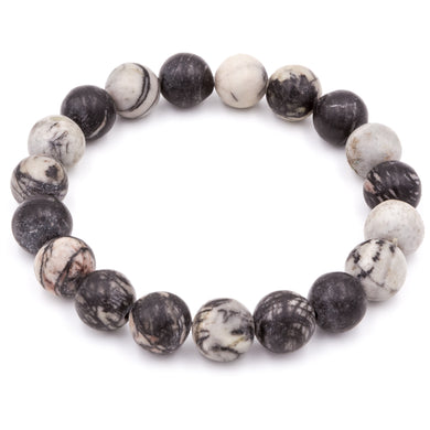Spiderweb Jasper | Men's Bracelets
