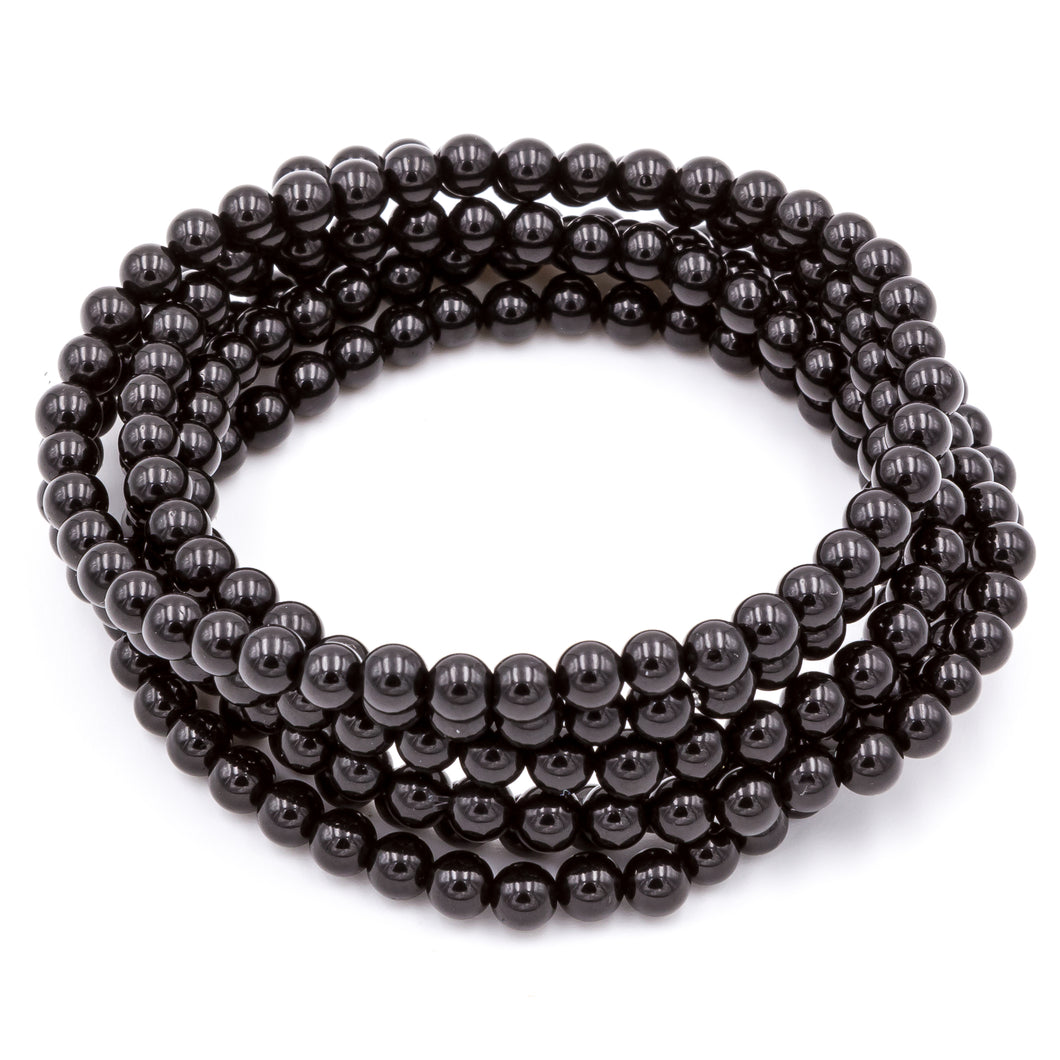 Black Tourmaline | Gemstone Bracelets