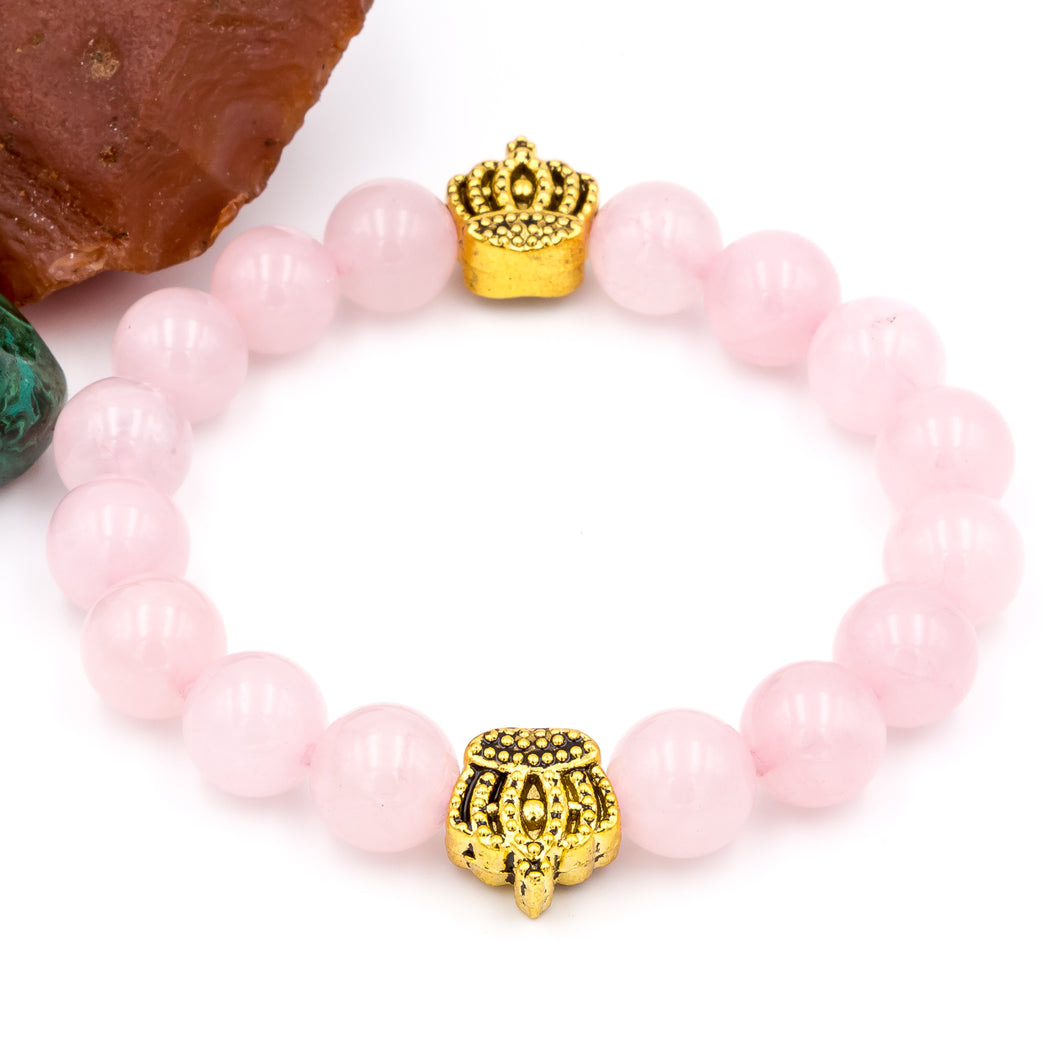 Queen City and Rose Quartz | Bracelet
