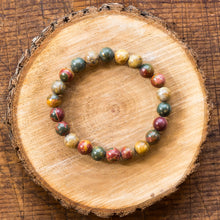 Load image into Gallery viewer, Picasso Jasper | Gemstone Bracelets