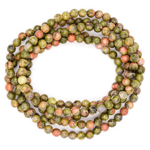 Load image into Gallery viewer, Unakite | Men's Bracelets