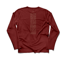 TIERRA LONG SLEEVE SANGRIA