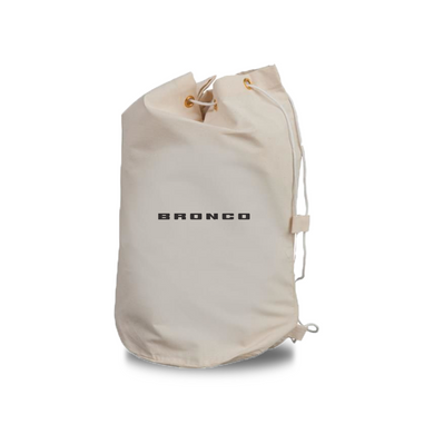 Bronco Drawstring Barrel Bag