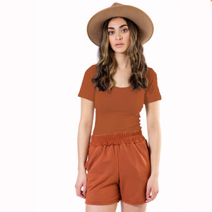 Short Sleeve Bodysuit - Various Colors