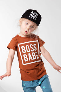 Boss Babe Tee - Rust
