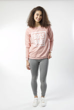Load image into Gallery viewer, Boss Babe Lite Sweatshirt - Various Colors (Women's)