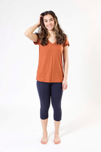 V-Neck Tee - Various Colors