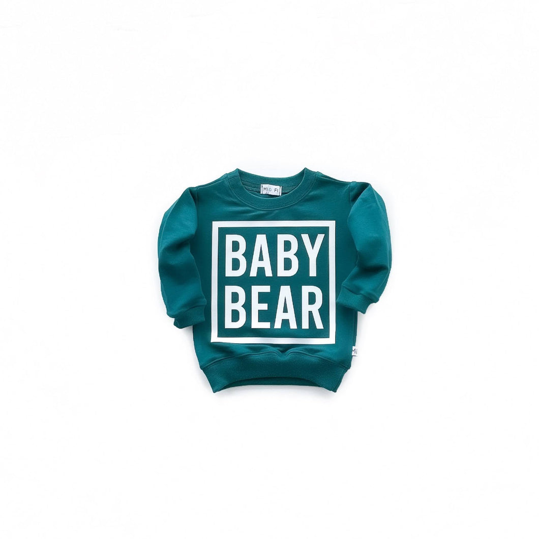 Baby Bear Lite Sweatshirt - Various Colors