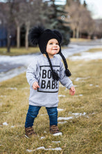 Double Pom Pom Toque - Black