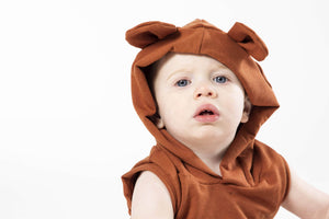 Bear Romper - Various Colors