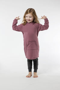 Fall Hoodie Dress - Various Colors