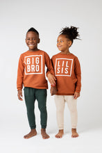 Load image into Gallery viewer, Big Sis / Lil Sis Lite Sweatshirt - Rust