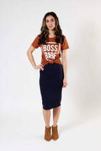 Load image into Gallery viewer, Boss Babe Tee - Various Colors (Women's)