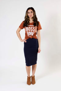 Boss Babe Tee - Various Colors (Women's)