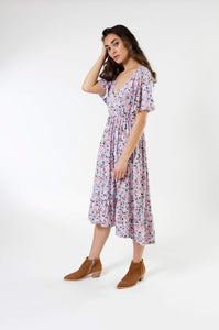 Flowy Ruffle Dress - Various Colors