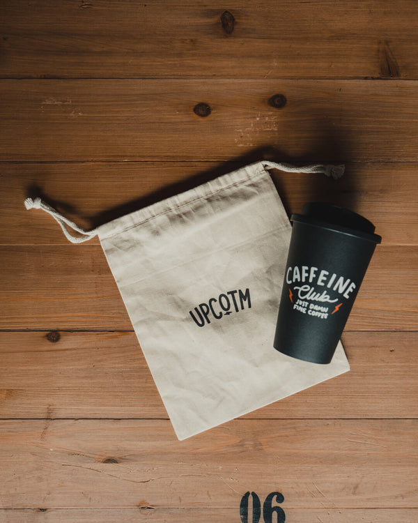 CAFFEINE CLUB TRAVEL MUG