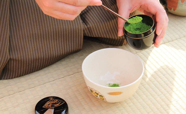 traditional matcha green tea ceremony